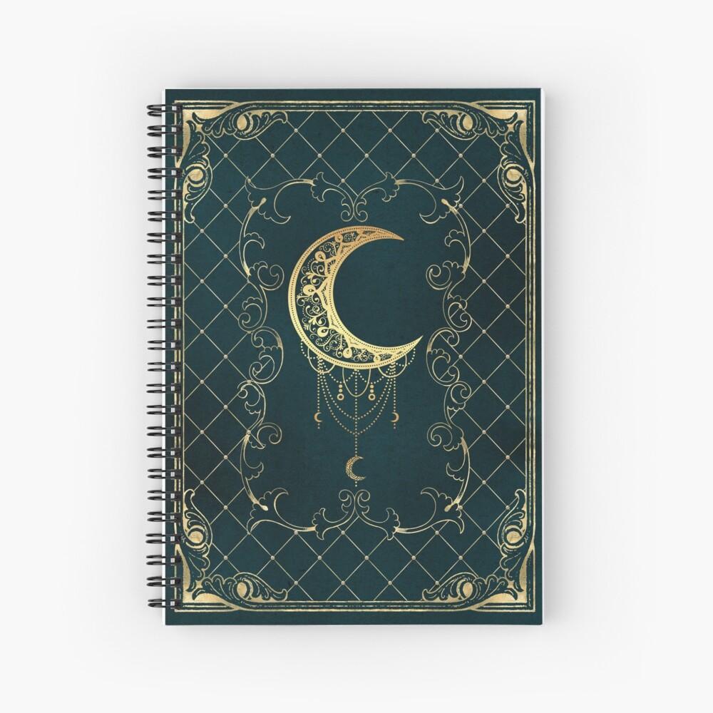 Magic blue moon Spiral Notebook
