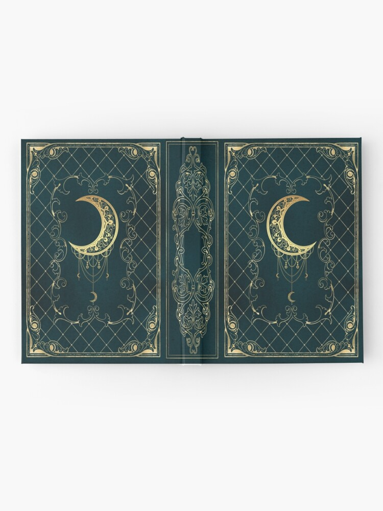 Alternate view of Magic moon grimoire diary sketchbook Hardcover Journal