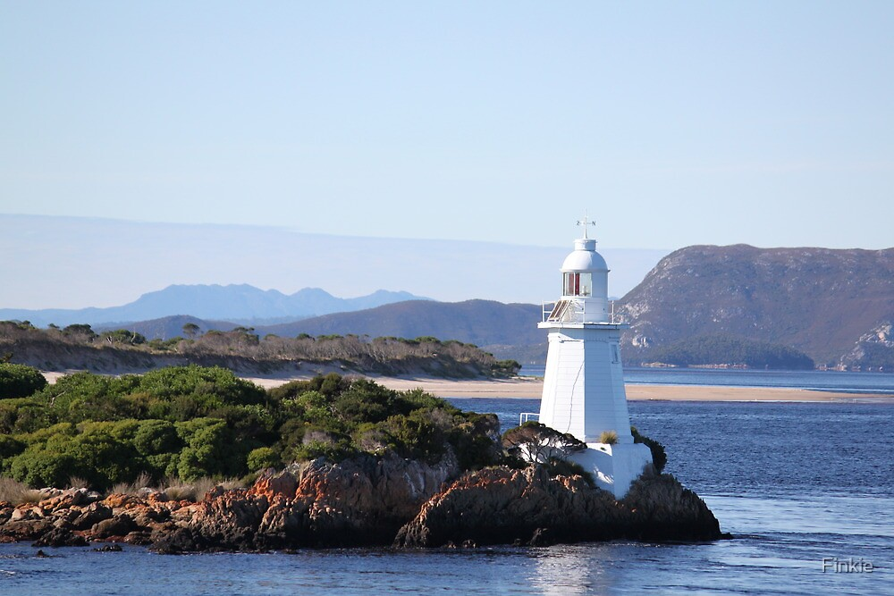 Hells Gate Lighthouse, TAS by Finkie