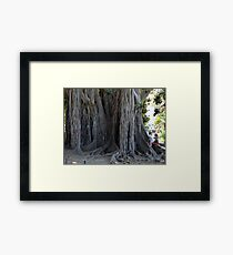 """One TREE at a Time"" Framed Print"