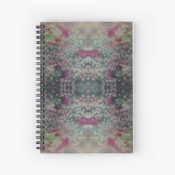 Abstract watercolor pattern  Spiral Notebook