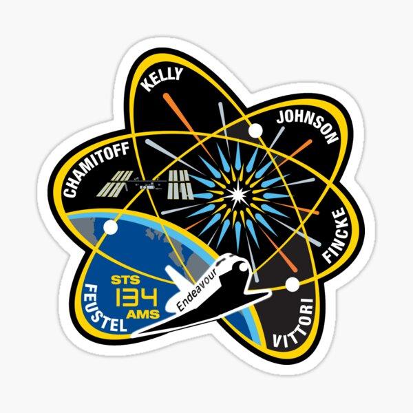 STS-134 Mission Patch Sticker