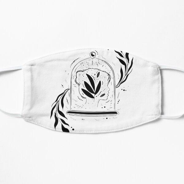 Head in a jar Flat Mask