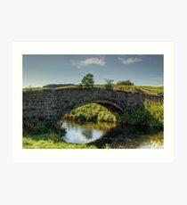 Smardale Bridge Art Print