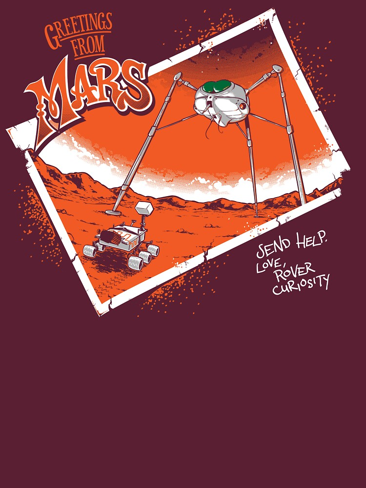 Greetings From Mars | Unisex T-Shirt