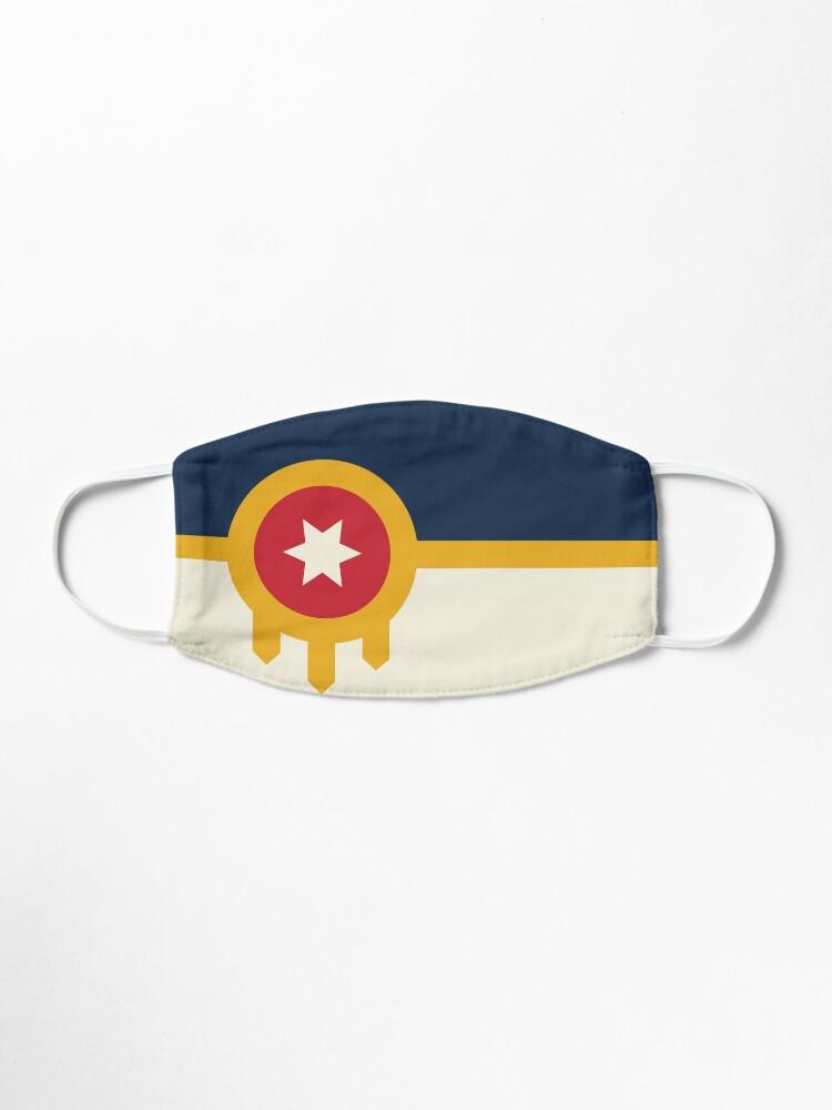 Alternate view of TheCoffeeCupLife:The Official Flag of Tulsa,Oklahoma Mask