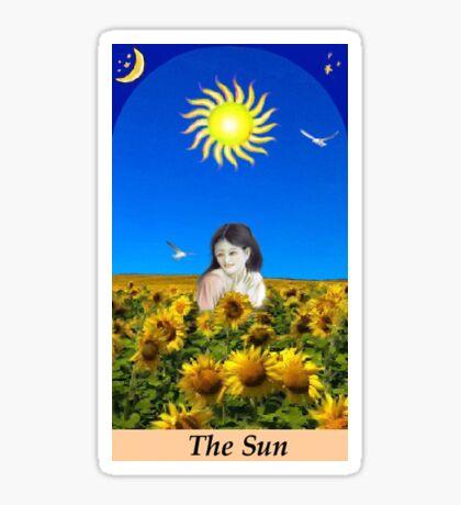 THE SUN Sticker