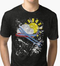 biplane Tri-blend T-Shirt