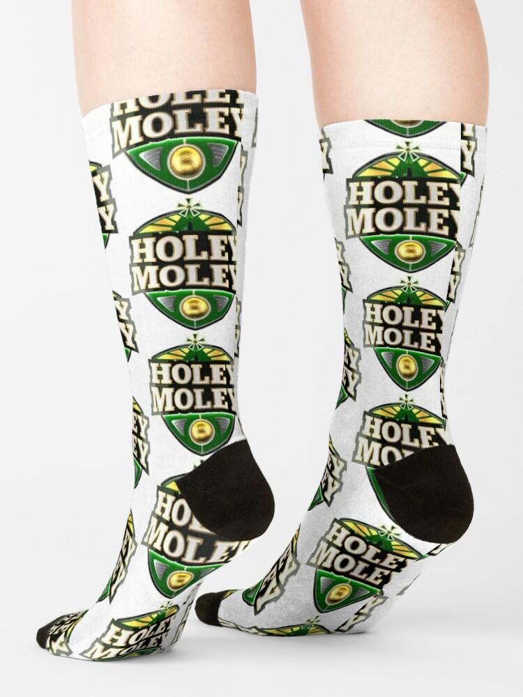 Alternate view of Holey Moley Golf Socks