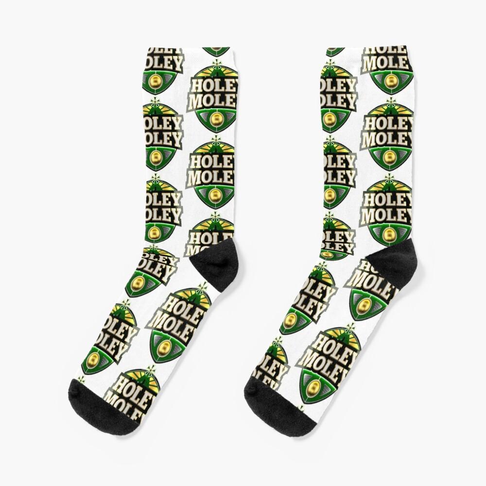 Holey Moley Golf Socks