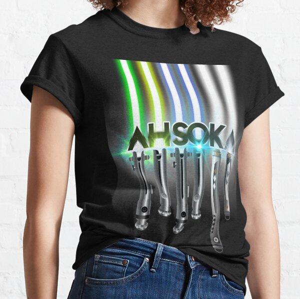 Ahsoka-lightsabers Classic T-Shirt