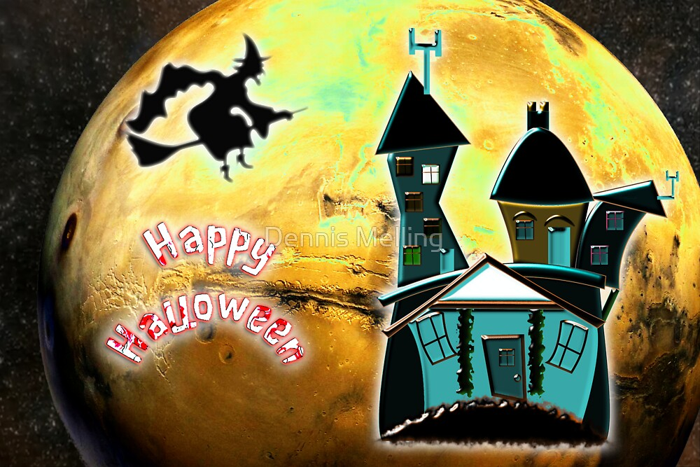 Happy Halloween from the Witch's Condo by Dennis Melling