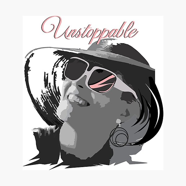 Unstoppable Women Photographic Print