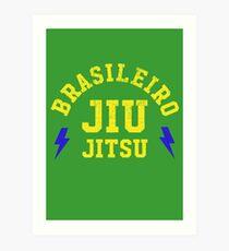 BRASILEIRO JIU JITSU Art Print