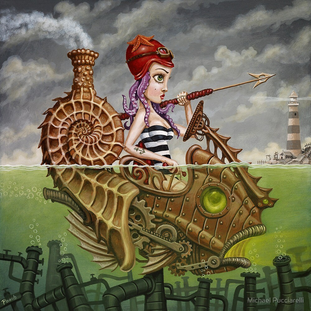 Nautilus Girl by Michael Pucciarelli