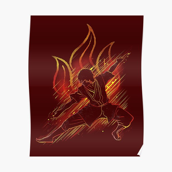 the fire bender Poster