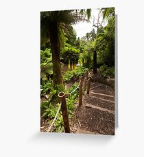 Lost Gardens of Heligan - Jungle Greeting Card