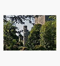 Keepers Watch Tower and Blarney Castle, County Cork, Ireland Photographic Print