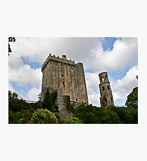 Blarney Castle and the Keepers Watch Tower, County Cork, Ireland Photographic Print