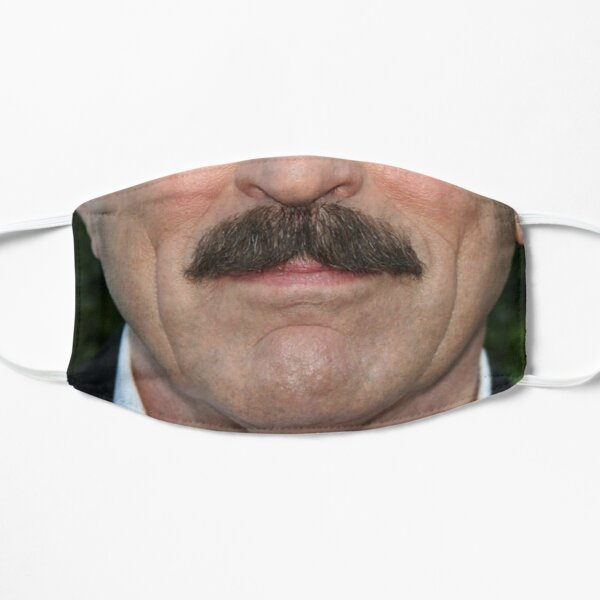 Tom Selleck Face Mask - Funny Mustache Masks Mask