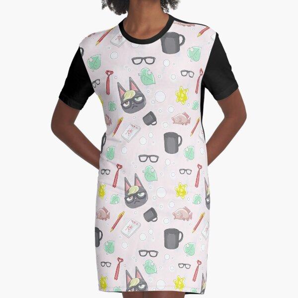 Everyones favorite villager, Raymond! Graphic T-Shirt Dress