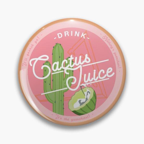 Drink Cactus Juice! Pin