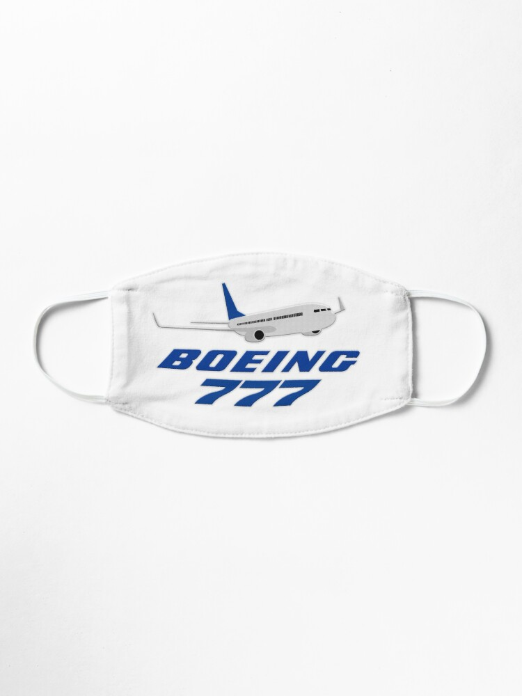 Alternate view of Boeing 777 Mask