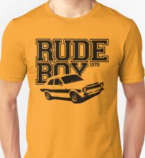 Rude Boy 1979 Ford Escort Men's Classic Car T-shirt T-Shirt