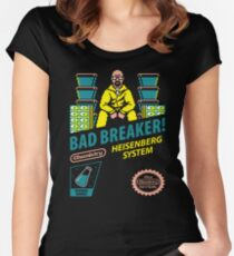 BAD BREAKER! Women's Fitted Scoop T-Shirt
