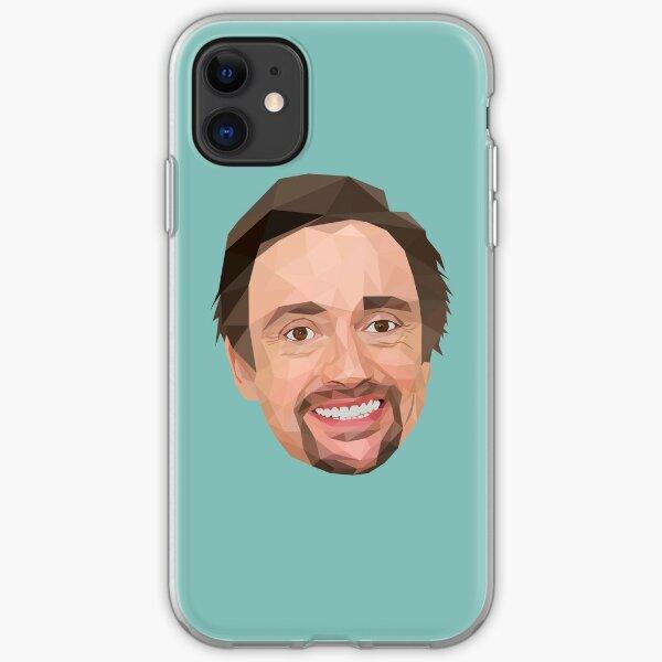 Richard Hammond lowpoly art iPhone Soft Case