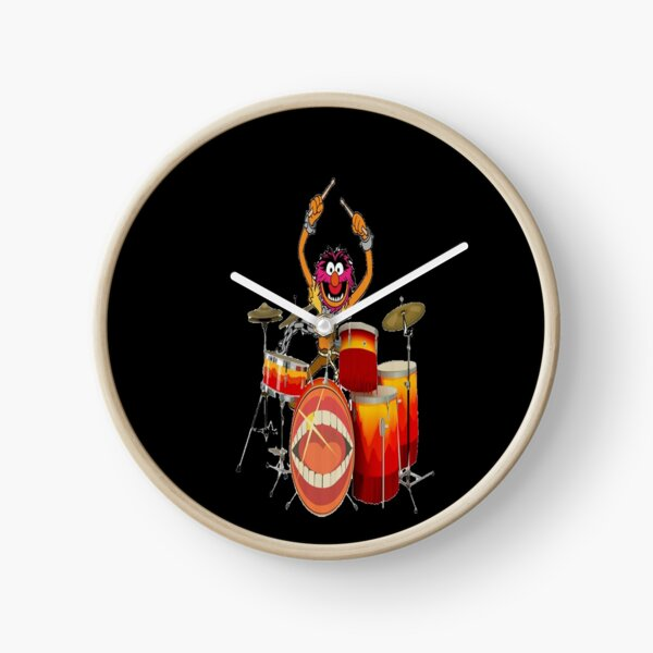 Animal Drummer The Muppet's Show   Clock