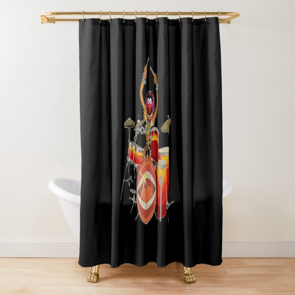 Animal Drummer The Muppet's Show   Shower Curtain