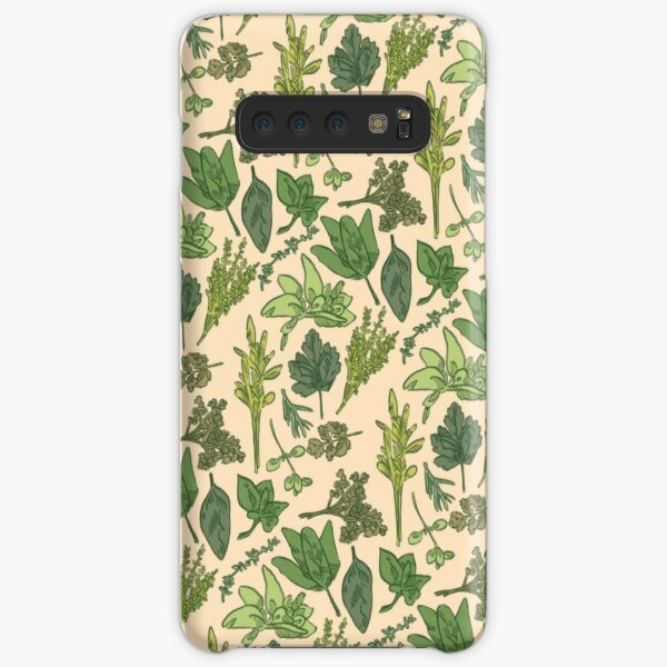 Herbs Samsung Galaxy Snap Case