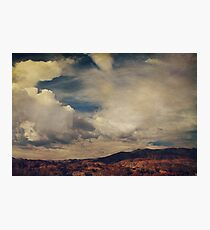 Clouds Please Carry Me Away Photographic Print
