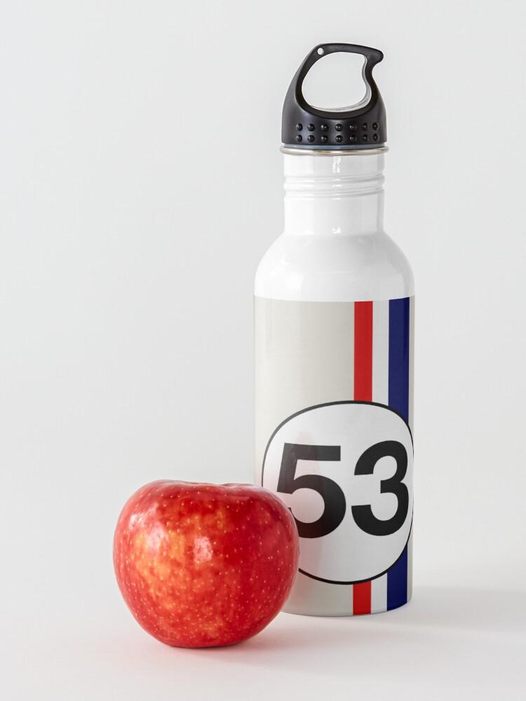 Alternate view of Herbie 53 Racing stripes Water Bottle