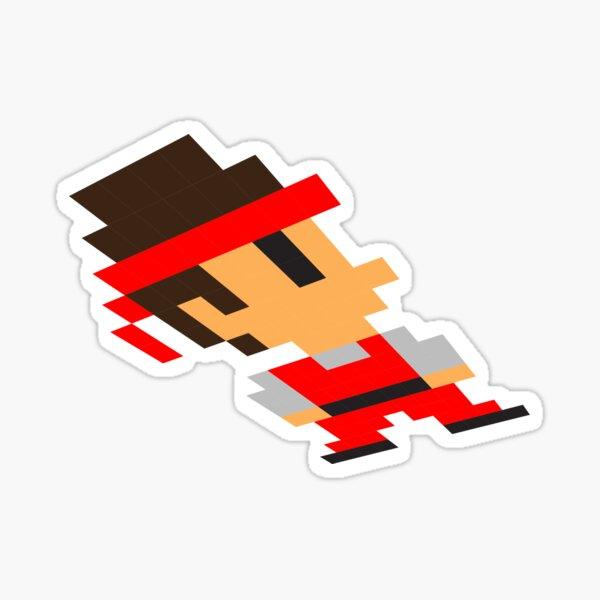 Pixel man Sticker