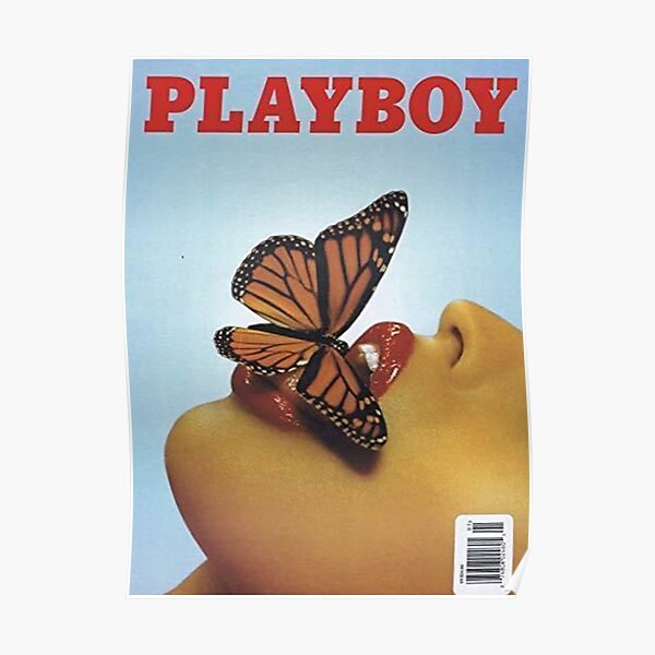 Playboy Vintage Cover: Butterfly Poster