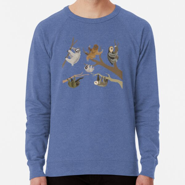 Know Your Sloths Lightweight Sweatshirt