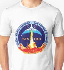 STS-133 Original Crew Mission Patch T-Shirt