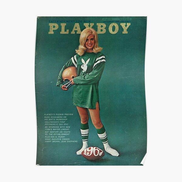 Playboy Vintage Cover September 1967 Poster