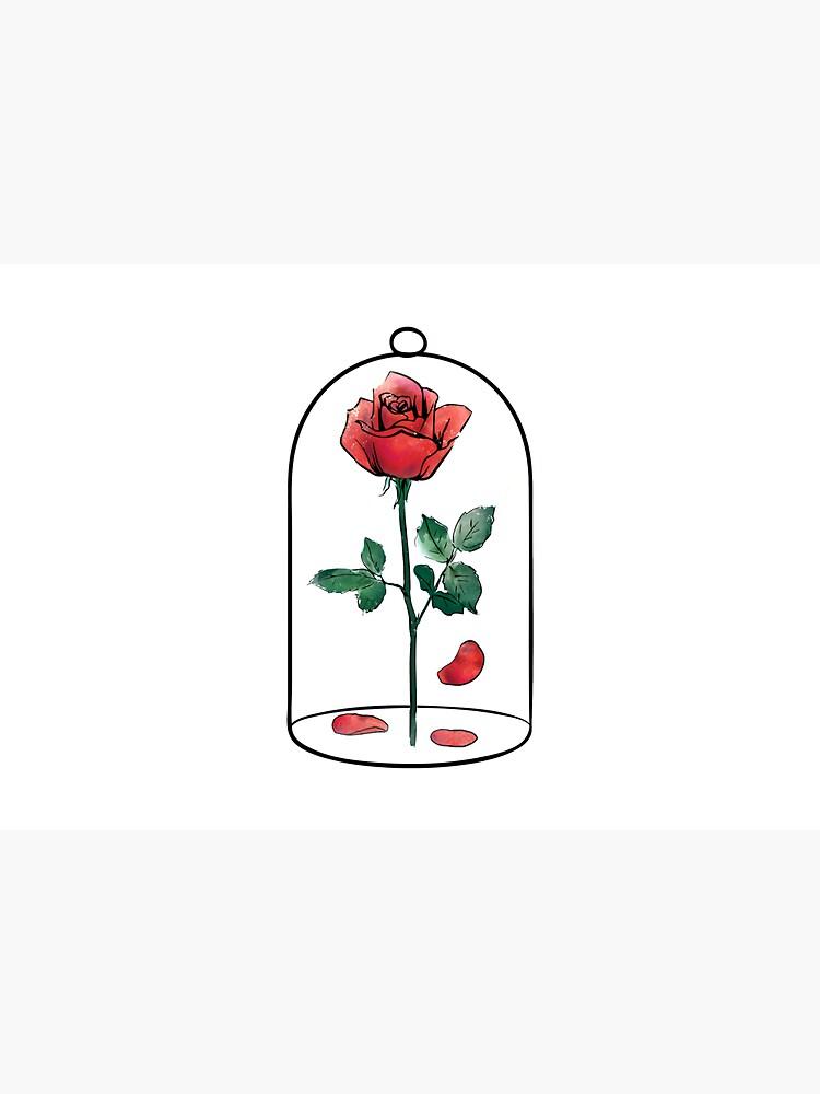 Enchanted Rose in a Jar by Kalepanic