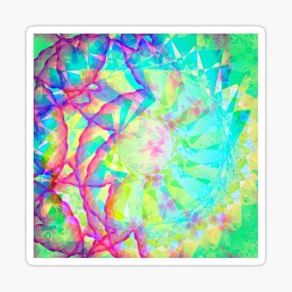 PastelSwirl Sticker