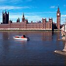 House of Parliament , London, England by David Rankin
