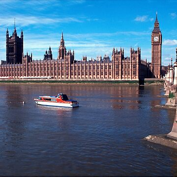 House of Parliament , London, England by goldyart