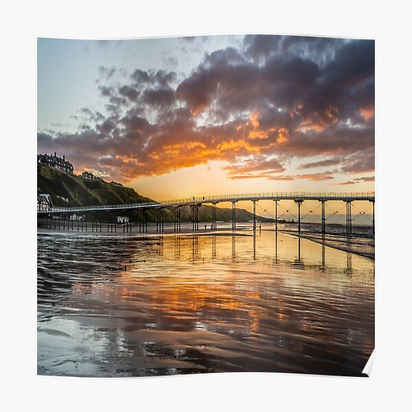 Saltburn by the Sea Teesside  Poster