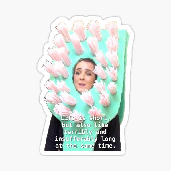Life Is Short - Jenna Marbles Sticker