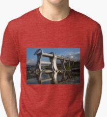 The Falkirk Wheel Tri-blend T-Shirt