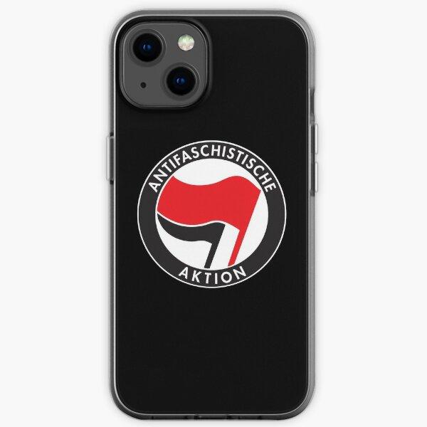 Antifa Antifaschistische Aktion Flag iPhone Soft Case