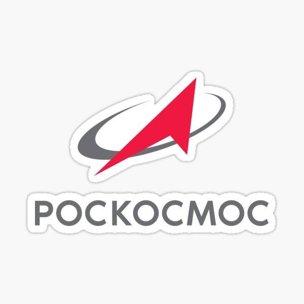 Roscosmos Logotype russe Sticker