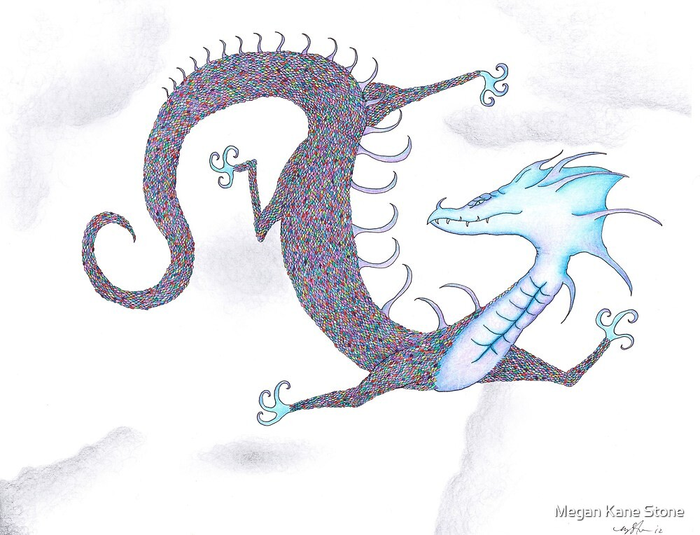 Rainbow Dragon by Megan Stone